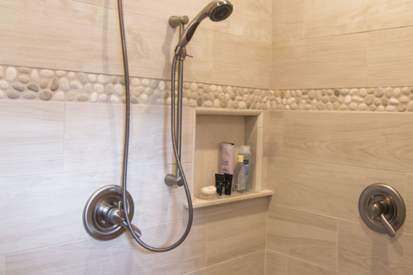 Large custom bathroom shower Oregon contractor/design