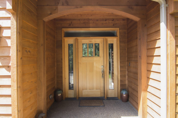 Custom Entryway ... Oregon custom builders